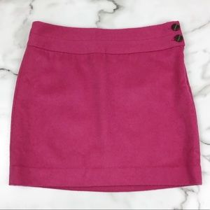 The Limited Pink Wool Blend Skirt